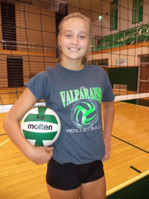 Talented Olsen focused on Valparaiso for volleyball