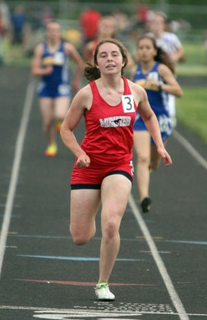 Munster runs away with Highland Sectional girls track title