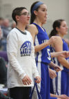 Dyer teen thrives in role on girls basketball team