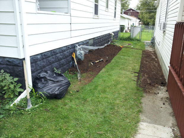 water proofing a basement from the outside if the soil around your