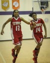 Kameron Dickens and Ninah Bertrand, T.F. South