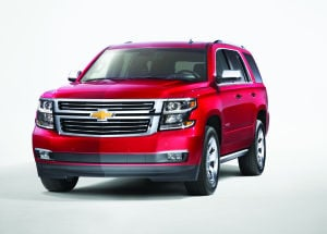 Chevy Tahoe delivers functional, refined safety