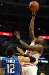 Chicago Bulls' Luol Dang
