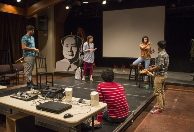 OFFBEAT: 'Experimental theater' abstract offering, 'Bully' book event Sunday