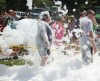 Psi Iota Xi fund-raiser keeps foam flowing