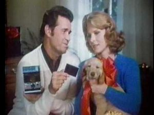 James Garner and Mariette Hartley for Polaroid Christmas 1980