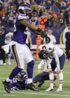 Gould's miss costs Bears in 23-20 loss to Vikings