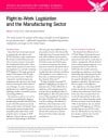 Right-to-work Legislation and the Manufacturing Sector