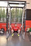 Barbell Squat finish
