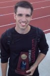 Five months after gall bladder surgery, C.P. grad Hudi earns NCAA D-II long jump all-American honors