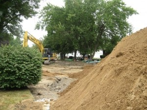 Hobart residents hope sewer work ends flooding