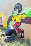Graffiti art preserves Jackson legacy