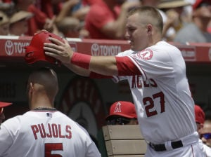 Trout, Pujols lead Angels to win