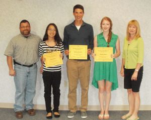 Scholarships awarded to four Lake Central graduates