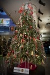 Muppets inspired decorations grace museum's grand tree
