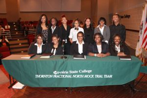 T.F. North Mock Trial team headed to state competition this weekend