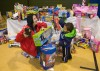 Providing holiday toys, meals