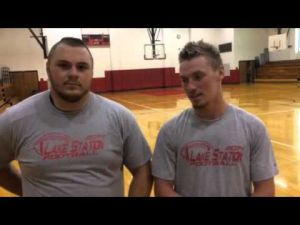 Isiah Shultz and Kody Lemley talk about Lake Station's rival