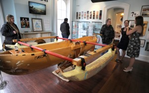 Women's dugout canoe, lake voyage featured in museum exhibit