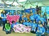 Parkview K-Kids make blankets for hospital patients