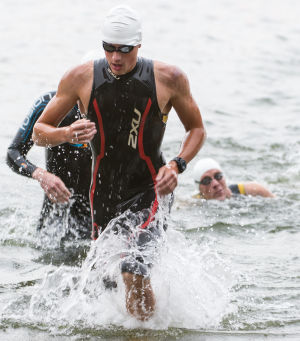 VALPARAISO TRIATHLON NOTEBOOK: Age just a number at triathlon