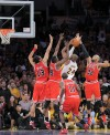 Kobe Bryant, Joakim Noah, Luol Deng, Ronnie Brewer, Taj Gibson