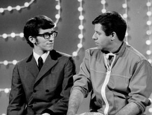 OFFBEAT: Comic Jerry Lewis and singer son Gary Lewis share stage