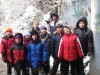 Annunciata Scouts take hike in winter wonderland