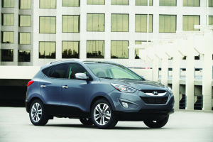 Tuscon offers stylish performance and crossover function