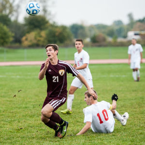 Chesterton junior Weller named The Times Boys Soccer Player of the Year