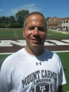 Mt. Carmel defensive coordinator David Lenti