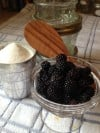 Wild Black Raspberries Perfect for Jam and Preserves