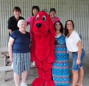 Clifford brings books to children in Hammond parks