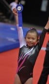 Our Kids: Miah Bruns, 9, is bouncing her way to the top