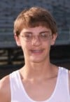 T.F. South boys cross country athlete Kenny Karrson