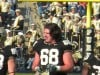 Purdue offensive lineman Dennis Kelly