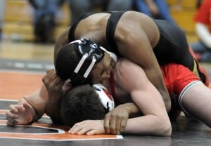 Marian Catholic wrestler Nate Jackson is The Times Illinois Male Athlete of the Year