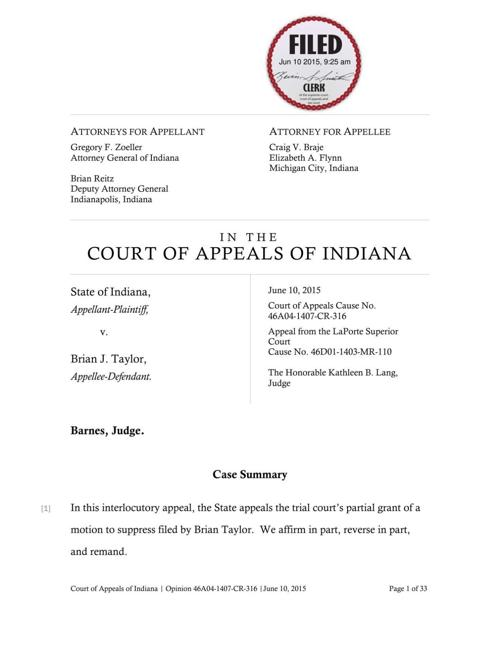 Appeals court rejects special prosecutor despite 39 improper for Laporte county clerk