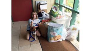 Birthday donations 'fur' a cause