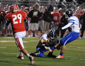 Gallery: Lake Central at Crown Point football