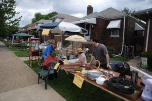 Citywide garage sales attract shoppers in Hobart and Whiting