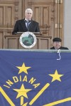Pence sworn in as Indiana's 50th governor