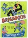 "Original Broadway Poster for ""Brigadoon"" in 1947"