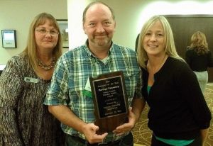 Portage Township recognized as Township of the Year by state group