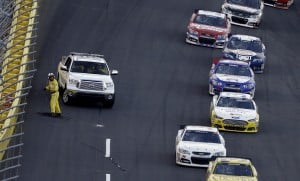 10 fans injured when TV cable falls on race track