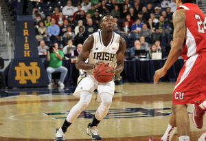 MEN'S BASKETBALL ROUNDUP: Grant leads Notre Dame in win over Cornell
