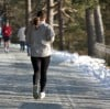 Serious runners keep stride in the snow