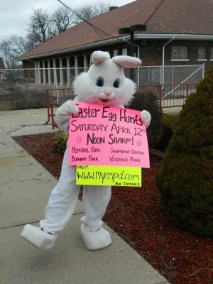 Calumet Memorial Park District hosts egg hunts Saturday