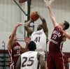 Calumet College's Brannon Jones looks to shoot