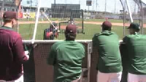 Ballplayers flock to RailCats' open tryouts